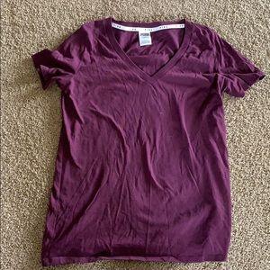 Women's V neck tee shirt